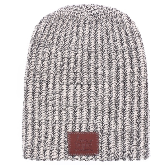 99da763917393 love your melon Accessories - Love your melon Black speckled beanie